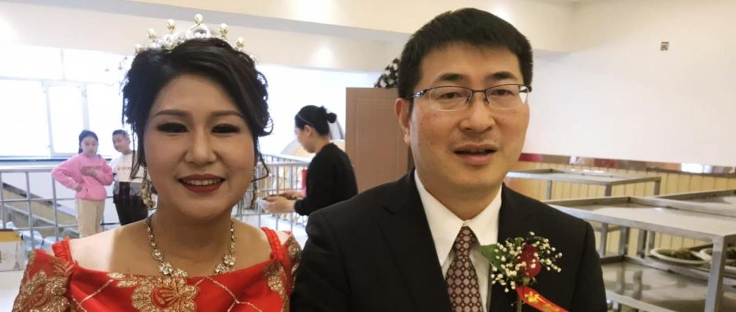 中国人女性と日本人男性の夫婦